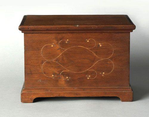Chester County  Pennsylvania cherry dresser box  ca  1760  with a lift lid   Primitive FurnitureAntique. 890 best Pennsylvania antiques images on Pinterest   Antique