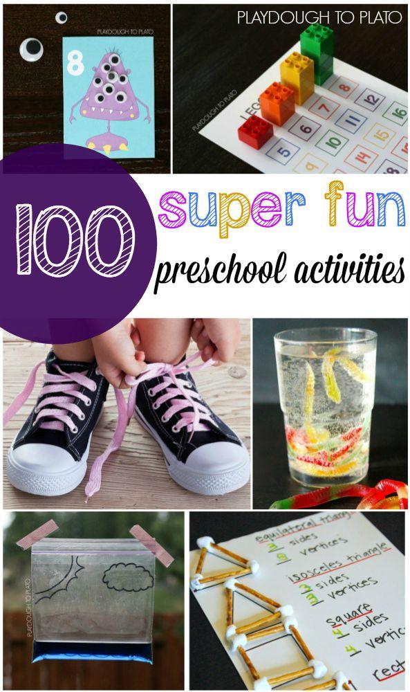 13. Preschool Activities