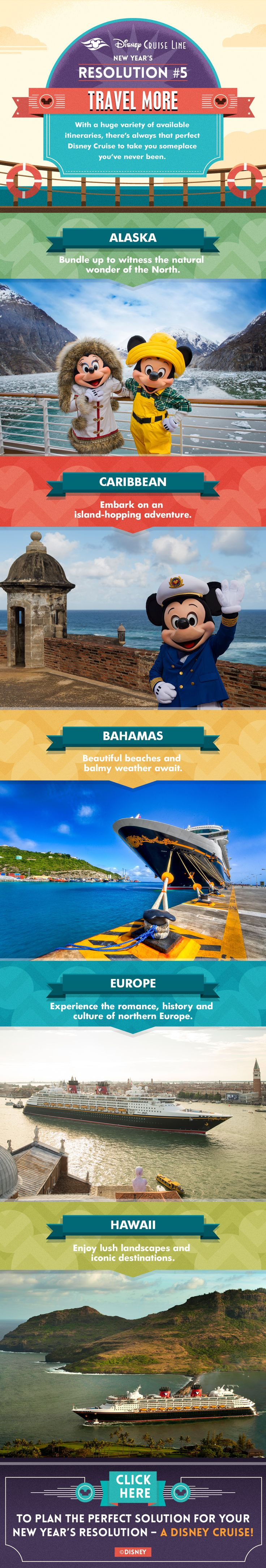 Learn how you can travel more with Disney Cruise Line! Ready to sail away on a Magical Disney Vacation? Contact me today for your free, no obligation Disney Cruise Line quote! donnakay@thewdwguru.com or 877-825-6146 ext 706