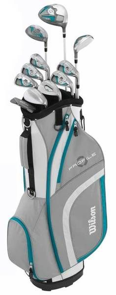 Wilson Women's Profile XLS Package Golf Club/Bag Set, Standard Right WGGC54000