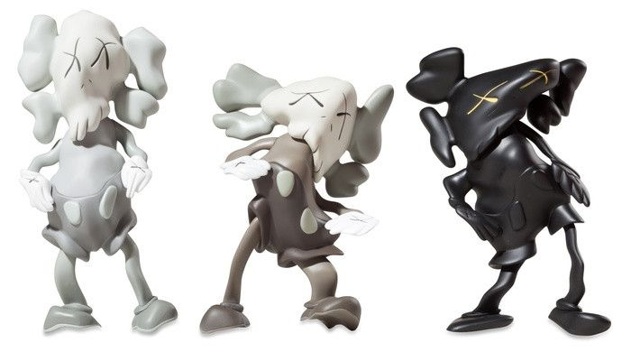 Kaws x Robert Lazzarini Bootleg Distorted Companion Set