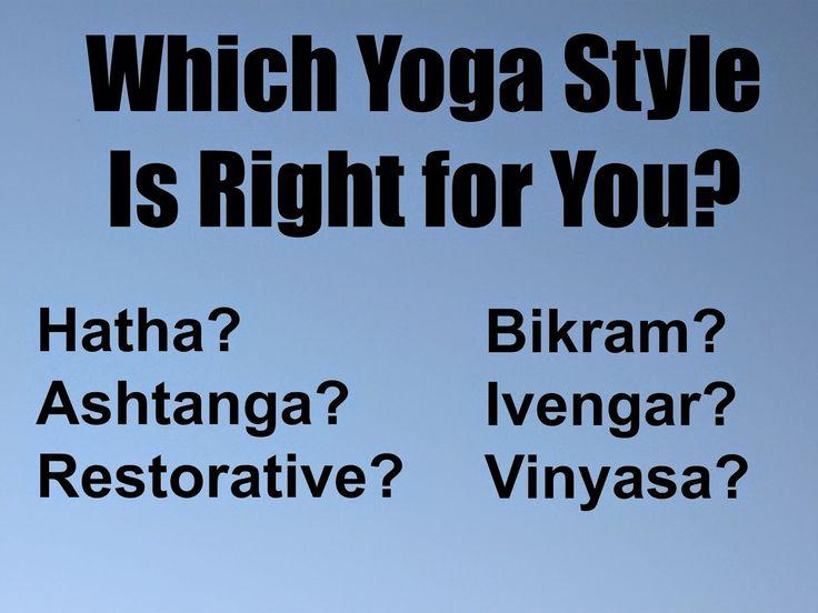 Healthy Body, Happy Spirit: Which Yoga Style Is Right for You?