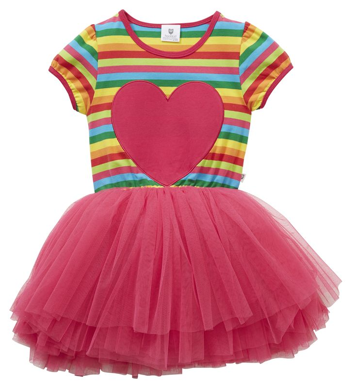 Machiko - a boutique for kids - Hootkid | All Heart Tu Tu Dress, $24.95 (http://www.machikobaby.com.au/products/hootkid-all-heart-tu-tu-dress.html)