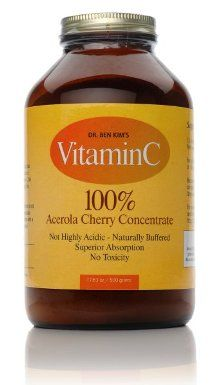 Experience the Health Benefits of Real Vitamin C from Acerola Cherry Powder By Ben Kim, D.C. Real vitamin C can be extremely helpful for:  •Preventing hair loss •Promoting healthy teeth and gums •Protecting your skin and organs against premature aging •Promoting a strong immune system and preventing frequent colds and infections •Easing unexplained pain and swelling of your joints •Preventing easy bleeding or bruising