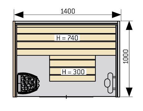 Harvia Capella Dual SC1410D