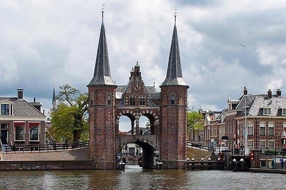 Waterpoort, Sneek, Friesland, Netherlands