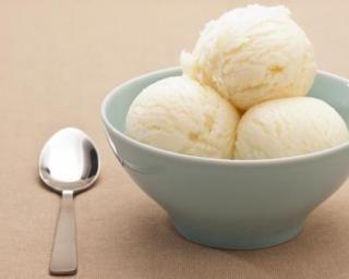 Crème glacée diététique à la noix de coco