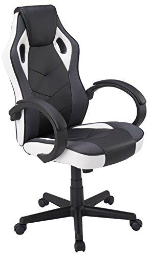Coavas Computer Gaming Racing Chair Office High Back PU Leather Computer  Chair Executive Swivel Task Desk 1a67a616d