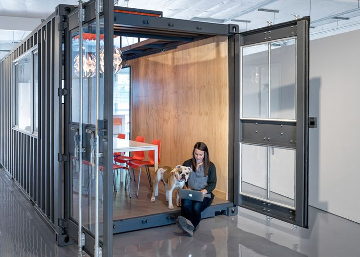 container office design. chacol creates tech incubator space in california container officecontainer office design o