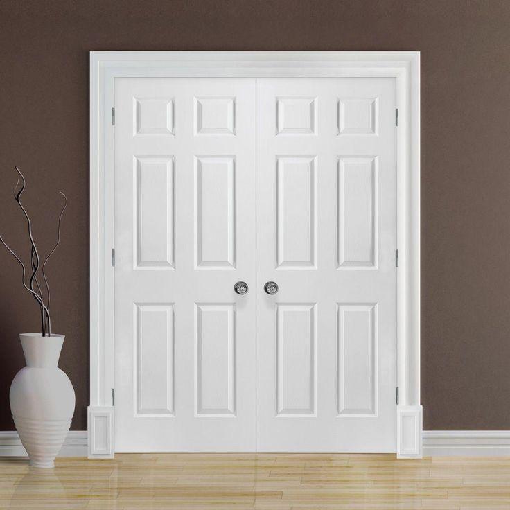 Prehung Interior Double Doors Closet