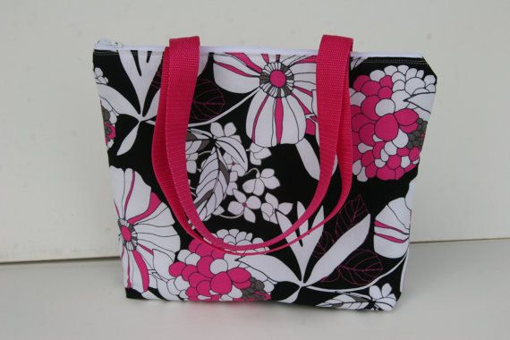 Serenity Insulated Lunch Tote Bag Zipper Lunch Bag Water by elgies