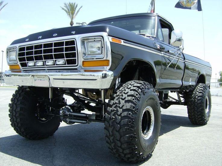 jacked-up-ford-trucks-trucktough | Ford F150 Trucks | Ford ...