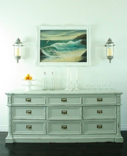 124 best images about mint green decor on pinterest for Mint green furniture paint