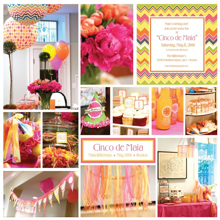 Cinco De Mayo 1st Birthday Party Fiesta