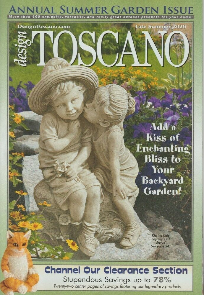 Design Toscano Catalog Late Summer 2020 Annual Summer Garden Issue