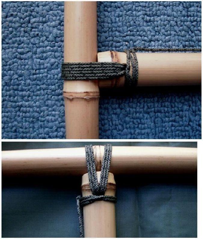 juntas de bambu