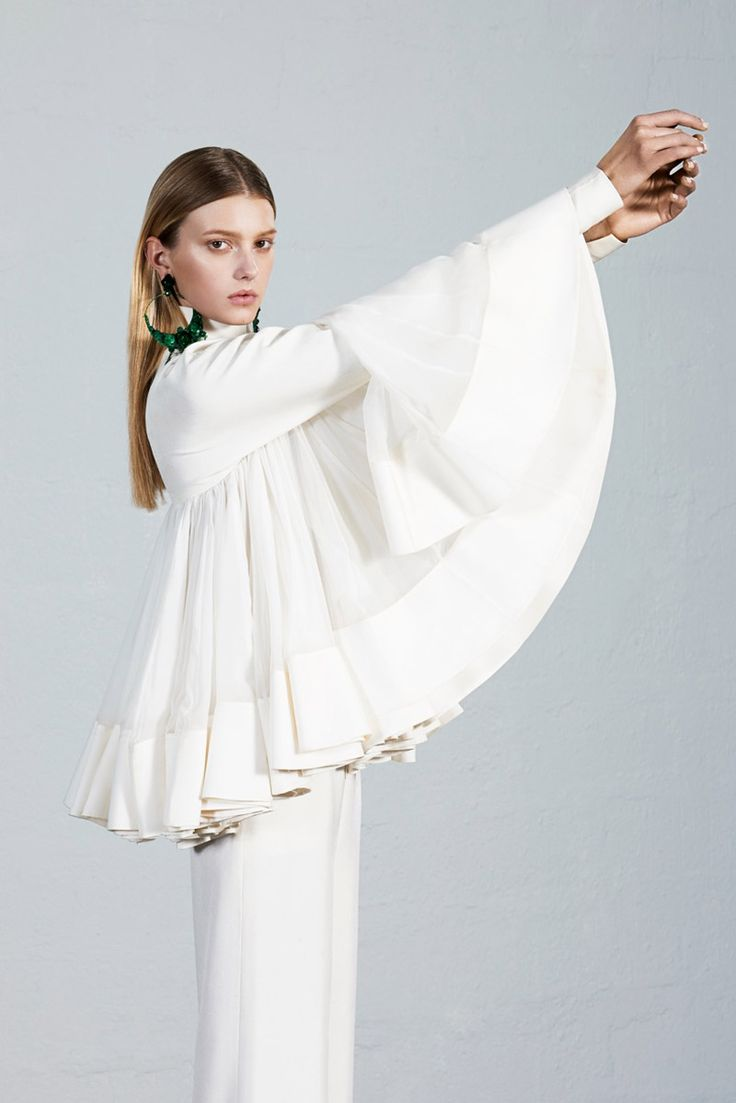 sigrid agren couture7 Sigrid Agren Models Couture for The Sunday Times Style by Eric Guillemain