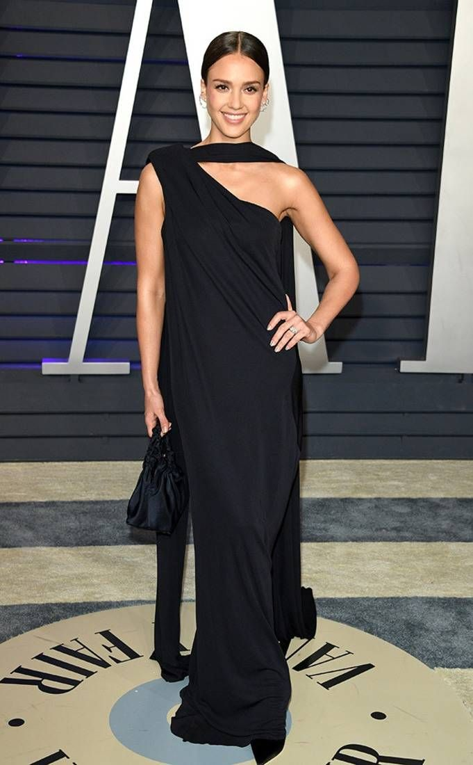 Jessica Alba From 2019 Vanity Fair Oscars After Party Jessica