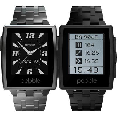 CES: 2014 Pebble Steel Smartwatch Announced