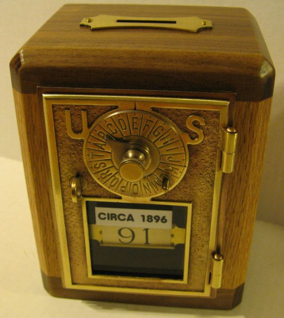 Bank\/Safe Made From Antique Post Office Box Door CIRCA 1896 - 26 Best Post Office Box Doors Images On Pinterest Solid Brass