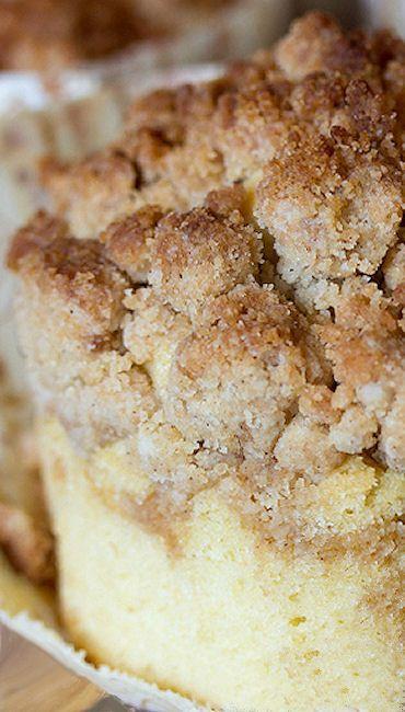 New York-Style Coffee Cake Crumb Muffins Recipe