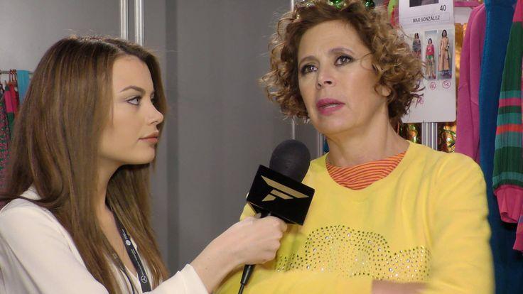 Entrevista Ágatha Ruiz de la Prada, en la Mercedes Benz – Fashion Week Madrid. Odei Cachero.