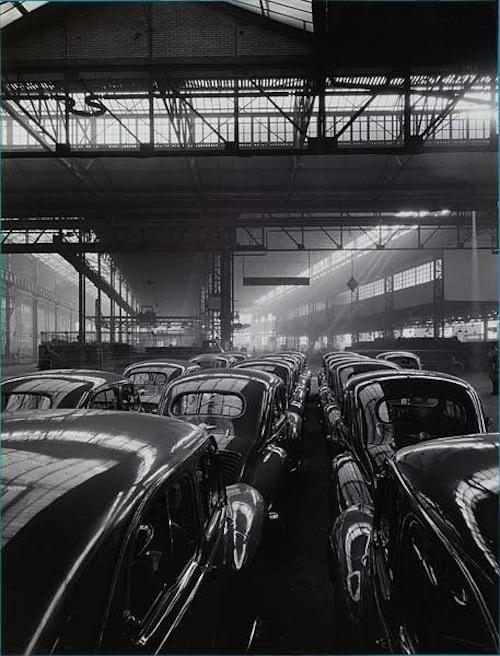 René-Jacques, Usines Renault, ca.1950