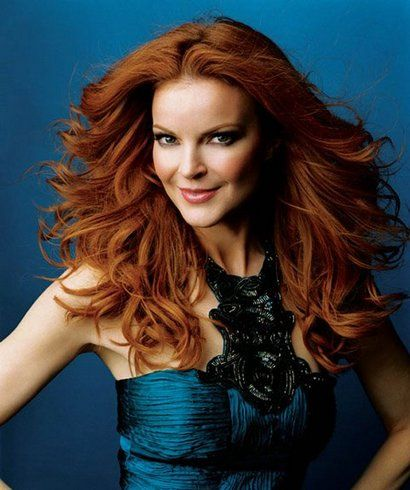 Warm Autumn?  YOU MUST follow Marcia Cross...she wears the colors of your season beautifully and I can rarely find a picture of her not wearing a 'Warm Autumn' color.