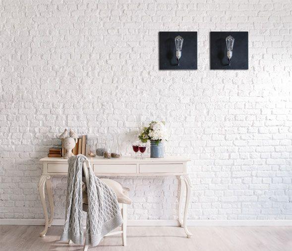 Quadra wall lamp