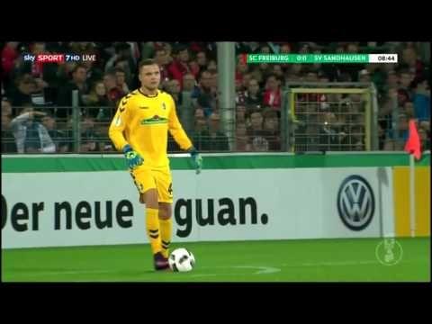 SC Freiburg vs SV Sandhausen - http://www.footballreplay.net/football/2016/10/25/sc-freiburg-vs-sv-sandhausen-2/