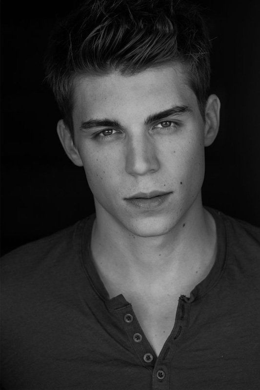 Nolan Gerard Funk - Hunter Clarrington on Glee(ugh I hate glee)  I've come to the conclusion that boys look better in black and white