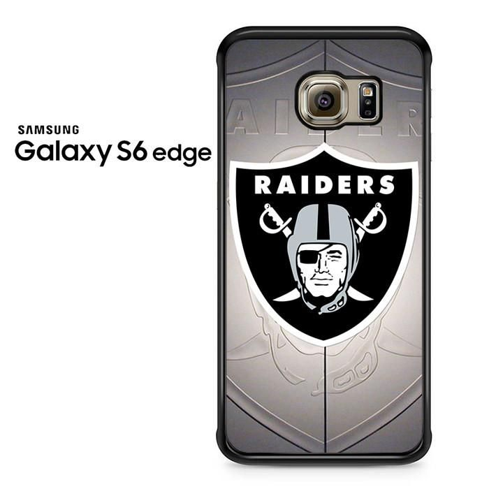Oakland Raiders Emblem Samsung Galaxy S6 Edge Case