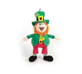 "9.5"" Finnegan the Irish Laughing Leprechaun Soft Toy"