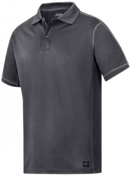 Åndbar og fugttransporterende polo. Snickers A.V.S. polo T-shirt , koksgrå (2711-5800) - Overdele - BILLIG-ARBEJDSTØJ.DK