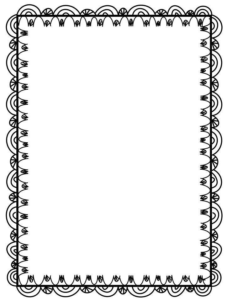 Free Border For Microsoft Word Decorative Backgrounds For Word