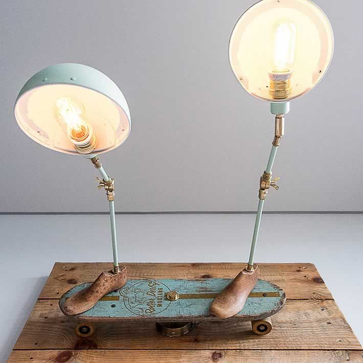 15 upcycle design wall lamp ideas 289