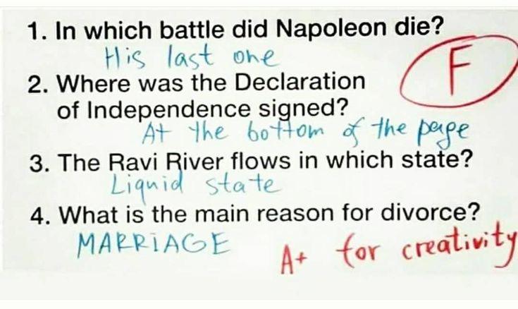 "Quiz questions. F for grade, A+ for creativity. ms. blacxican on Instagram: ""LOL. #petty #toopetty #sopetty #pettyaf #ctfu #nochill #ctfu😂😭😂😭😂😭😂😭😂😭😂😭😂😭😂😭"""