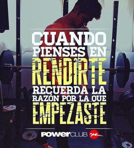 Comienza la semana !! #Lunes para nunca #Rendirse @powerclubpanama #YoEntrenoEnPowerClub