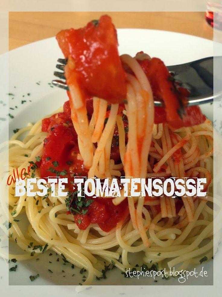 Die ultimative Tomatensoße ⋆ Einfach Stephie
