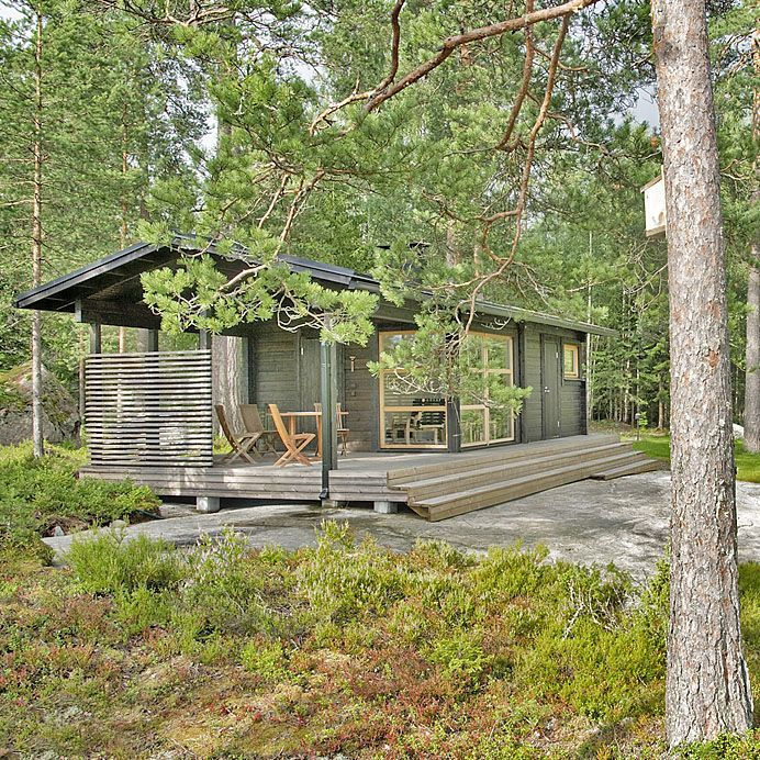 Small Cabin by Architect Kalle Oikari   Sunhouse
