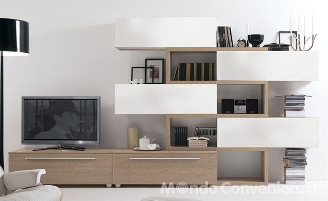 173 best images about tv unit on pinterest modern wall for Marte mondo convenienza
