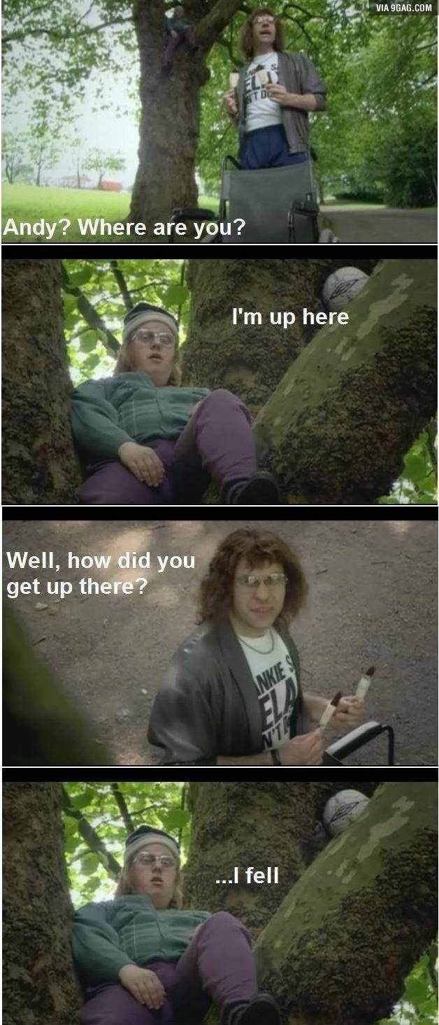 Little Britain - I just started watching this show, and I already love it. I haven't even seen this episode yet, but this still made me laugh out loud.