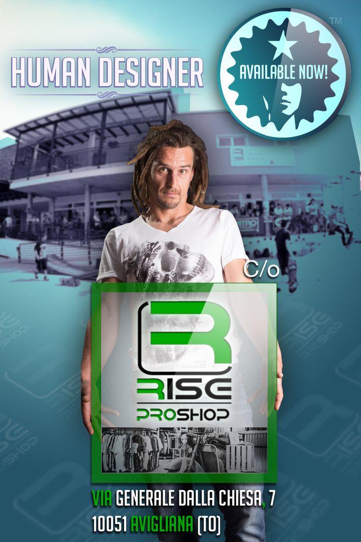 Trovi la Collezione Esordio di HUMAN DESIGNER da RISE ProShop - Avigliana (TO) www.riseproshop.com