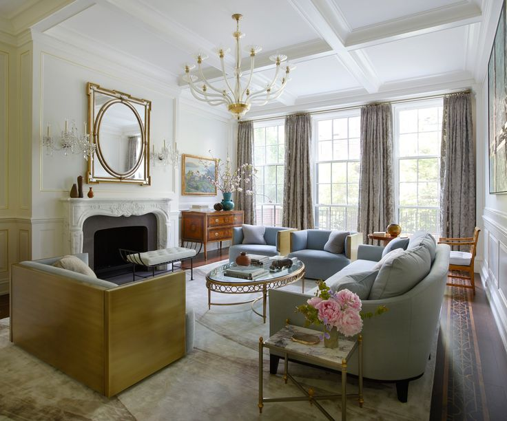 An Elegant New York Townhouse Is Reborn Photos | Architectural Digest
