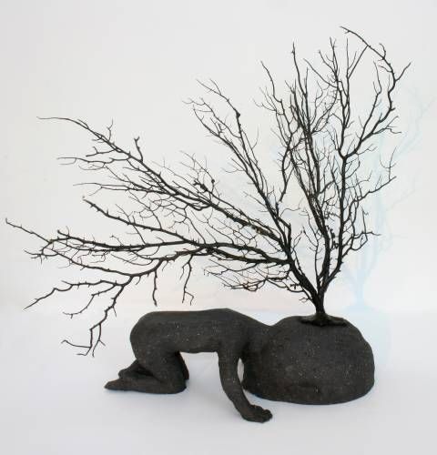 Racines - (Roots) by Christian Voltz... lives and works in Strasbourg (France), where he studied Arts at the Ecole Supérieure des Arts Décoratifs.
