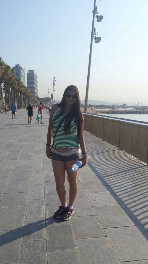 The walk in Barcelona - Ana Karla Suarez