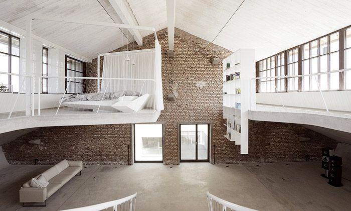 V Salzburgu postavili loft v bývalé výrobně tanků