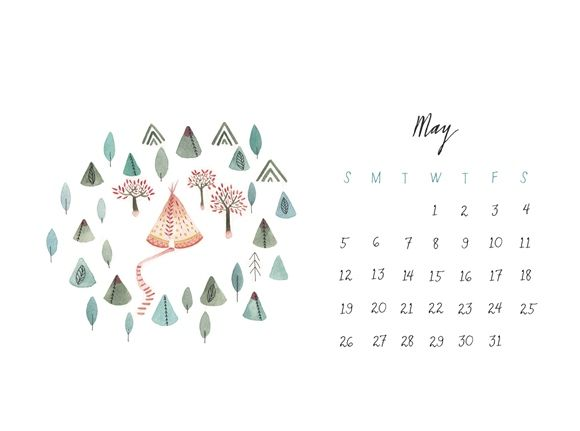 may 2013 calendar - great organization desktop background! @Free People
