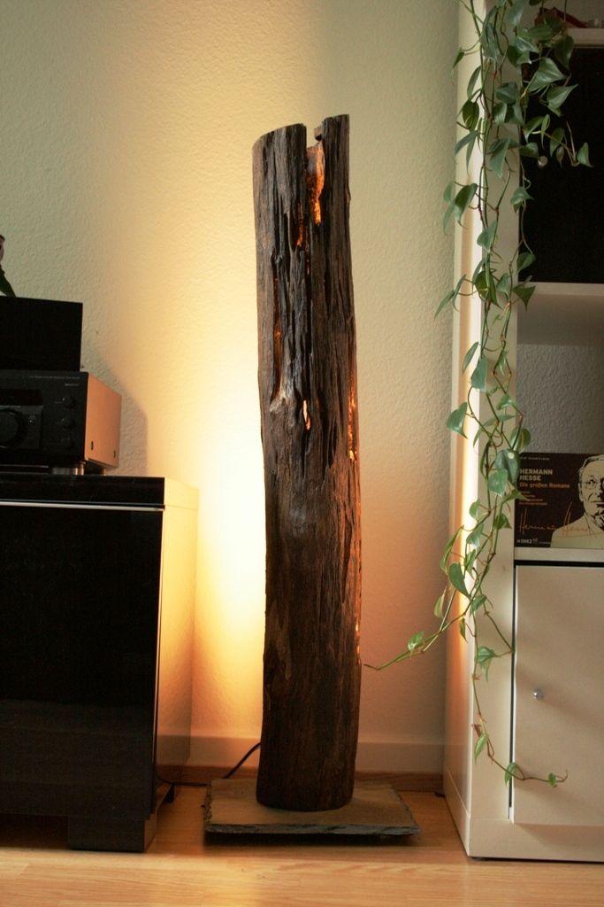 Stehleuchten Stehlampe Holz Lampen Aus Holz Treibholz