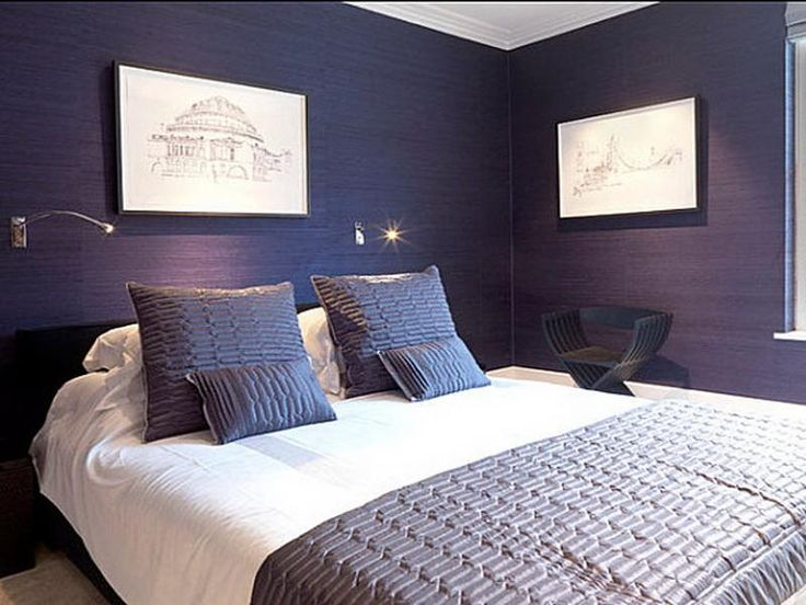 Glamorous blue wall bedroom ideas my kind of home for 6 x 8 bedroom ideas